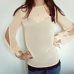 Elisabetta Franchi peach Blouse Made in Italy  SIZE 40 (IT)  SS included!  #maglia #elegante #pesca #rosa #camicia #blusa #Elisabetta #Franchi #instant #buy #paypal #fashionlovers