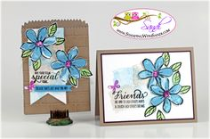 Stampin Up Garden in Bloom Projects.
