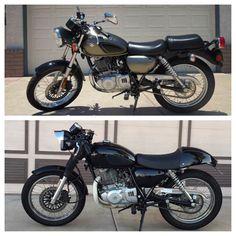 Tu250x - My vision how Suzuki should have made the bike.