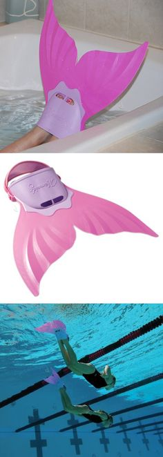 Mermaid tail fin flipper! #product_design