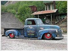 ◆Chevy Rat-Rod Pick-Up Truck◆ http://www.chefdepot.com