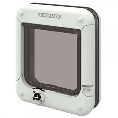 Cat Mate Cat Flap with Timer Control is made of robust plastic. With five-way locking and LED-display to help your plan your cat's daily routine Vivarium, Best Dog Door, Cat Fence, Pet Door, Cat Dog, Pet Mat, Buy A Cat, Small Breed, Cat Collars