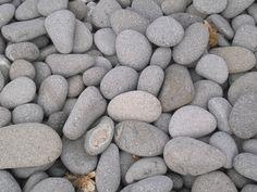 Grey stones.