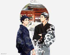 Akaashi & Bokuto