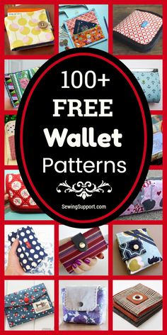 Diy Id Wallet, Sew Wallet, Simple Wallet, Fabric Wallet, Diy Sewing Projects, Sewing Hacks, Sewing Tutorials, Bag Tutorials, Bag Patterns To Sew