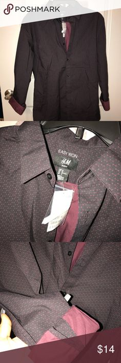 Men's brand new button down H&M shirt Brand new with tags it was a gift for My boyfriend but was Too small  Size M  from H&M H&M Shirts Dress Shirts