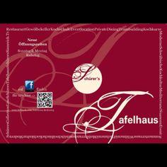 Unser aktuelles Restaurant Magazin 2013 im Schürers Restaurant Tafelhaus in Backnang ( bei Stuttgart )
