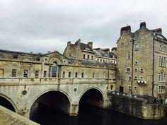 Bath. Pulteney Bridge. UK.