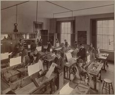 Turn of the century stereotype buster: Wood-working class for both men & women