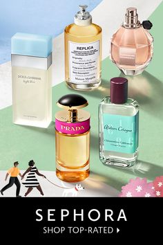 Shop perfume at Sephora. Find your favorite perfume or accentuate your style with a new scent from a top fragrance brand. Perfume And Cologne, Best Perfume, Perfume Bottles, Beauty Bar, Beauty Skin, Health And Beauty, Sephora, Prada, Hair Toppers