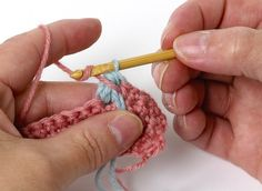 How to #crochet a bobble by Jan Eaton