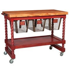 1000 Images About Butcher Block Kitchen Cart On Pinterest
