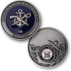 U s Navy Special Warfare Boat Operator USN Challenge Coin   eBay