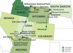 National Parks Canyon Country 13 Days 1 699 Cosmos Tours Denver