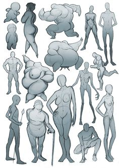 It's important to study different body types