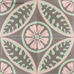 Alpine Rose … Cement Tile Shop
