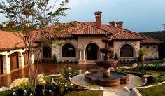 Water Front Lakeway Texas - mediterranean - exterior - austin - Alberto Jauregui Designs, Inc.