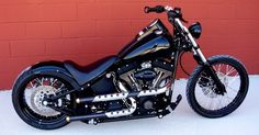 night train this is a 2005 fxstb harley davidson night train took Harley Davidson Night Train, Harley Davidson Chopper, Harley Night Train, Classic Harley Davidson, Harley Davidson Motorcycles, Softail Bobber, Harley Softail, Harley Davidson Jewelry, Custom Harleys