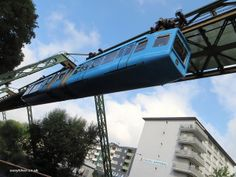 If you're touring the German countryside in North Rhine-Westphalia, think about taking a detour to Wuppertal to see the town's claim to fame–a unique suspension railway called the Schwebebahn. @easyhiker101