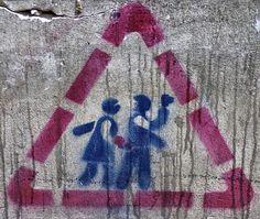 Viajar e descobrir: Eslováquia - Bratislava - Stencil street