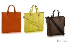 Louis Vuitton Fall Winter 2016 Men's Tote Bags Collection #Fashion #Luxury