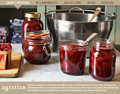 Agrarian- Williams-Sonoma's new child. Homemaking and homegrown everything.