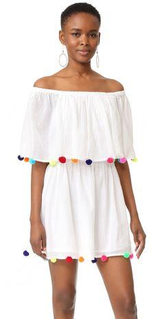 Pitusa Pom Pom Festival Dress   SHOPBOP