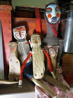 drift-doll family in progress! by KipikArt, via Flickr