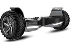 Jetson All Terrain Black Electric Hoverboard - Self Balancing Makes it Great for Standard or Off Road Riding, Off-Road Hoverboards Look Good Feel Good, Snorkeling, Offroad, Monster Trucks, Electric, Diving, Coloring Books, Sports, Boards