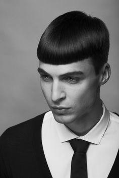 A little bit old school, Modo Berlin, Men's Collection 2012 #hair