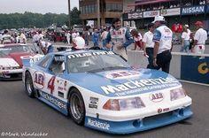 Ron Fellows #4 1991 AER / Mackenzie Ford Mustang SCCA Trans-Am car.