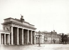 The Brandenburg Gate and American Embassy, Berlin