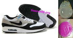 reputable site f54fe ee192 Mens Nike Air Max 1 Black Neutral Grey White Shoes Nike Company, New Nike  Air