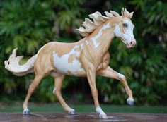 Drastic Custom Model Horse Resin Breyer Peter Stone Palomino Pinto Paint