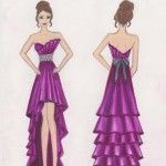 Sketches of Dresses