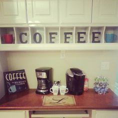 Small Coffee Bar Ideas Breakfast Nooks