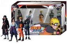 Découvrez dans ce coffret cadeau les 4 figurines de la série Naruto Shippuden. Naruto Uzumaki, Kakashi Hatake, Itachi et Sasuke Uchiwa (Uchiha). Les figurines mesurent environ 12 cm chacune et sont présenté en boite vitrine. Des figurines collector pour les adèptes de la série Naruto