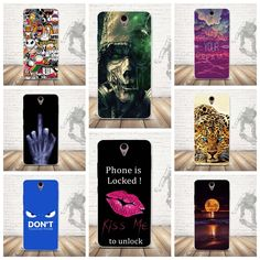 Cases for funda Lenovo Vibe S1 Cover Case 3D Flower Shell Silicon Soft TPU Luxury Cartoon for Lenovo Vibe S1 Phone Back Cover