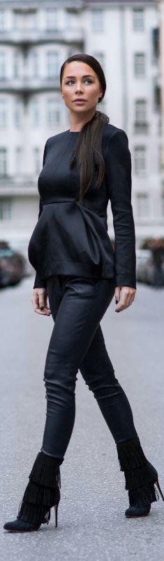 DEEP SIDE PART PONY / Fashion By Johanna Olsson