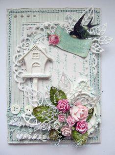 Прикосновение к нежности: Еще одна свадебная открытка