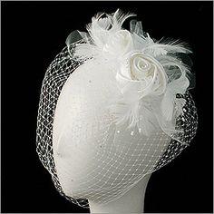 Satin Rose Bridal Veil