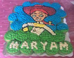 Pastel de cupcakes #honiesbakery #cake #cakecupcakes