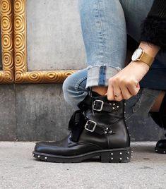 Biker, Boots, Fashion, Crotch Boots, Moda, Fashion Styles, Shoe Boot, Fashion Illustrations