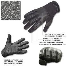 Defense SAP Gloves w/ 8oz Steel Shot - SIZE XXL