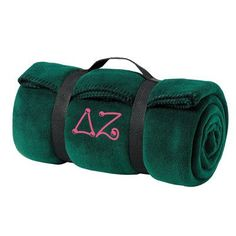 Delta Zeta Fleece Blanket - Port and Company BP10 - EMB Greek Gear, Custom Greek Apparel, Sorority Outfits, Delta Zeta, Greek Clothing, Baby Shoes, Great Gifts, Blanket, Big
