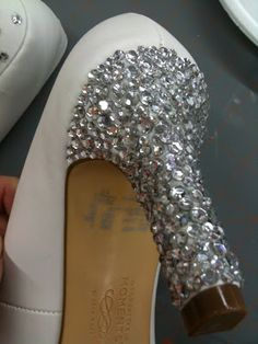 Crystal Studded Stilettos