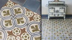 Carrelages ciment Patchwork