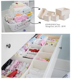 Organization- these are going on my Ikea list!