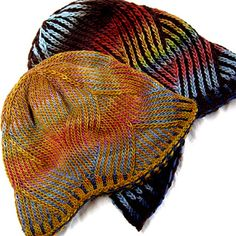 Knitting - $ Pattern, Hat Beanie Toque - Pattern has three sizes and two versions - Nepali_fh_flat_copy_small2