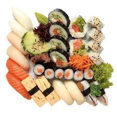 Set Choice Deluxe @77sushi Sashimi, Menu, Ethnic Recipes, Food, Menu Board Design, Essen, Yemek, Menu Cards, Meals